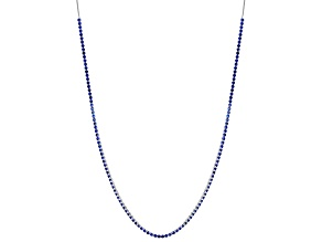 Blue Lab Created Spinel Necklace 12.30ctw