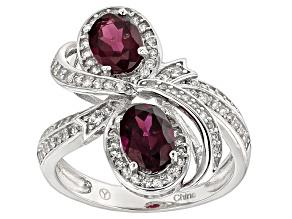 Purple Garnet Ring 2.70ctw