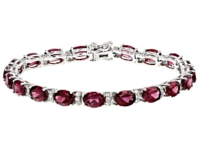 Purple Rhodolite 19.00ctw And White Zircon 1.15ctw
