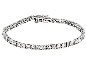Candlelight Diamonds™ 10K White Gold Tennis Bracelet 3.00ctw