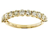 Natural Yellow Diamond 14K Yellow Gold Band Ring 1.00ctw