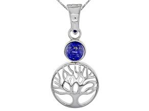 Blue Lapis Lazuli Sterling Silver