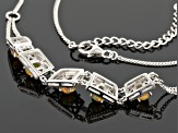 Honey Ethiopian Opal Sterling Silver Necklace 1.35ctw