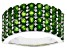 Chrome Diopside Rhodium Over Sterling Silver Ring 2.86ctw