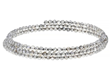 Picture of Gray Labradorite Stainless Steel Wrap Bracelet