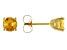 Citrine 14k Yellow Gold Stud Earrings 1.05ctw