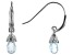 Sky Blue Topaz, Rhodium Over Sterling Silver Earrings 0.60ctw