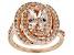 Pink Cor De Rosa Morganite™ 10k Rose Gold Ring 2.22ctw