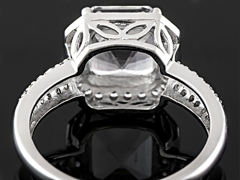 Danburite 10k White Gold Ring 2.51ctw