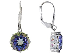 Odyssey Blue™ Mystic Quartz® Sterling Silver Earrings 5.00ctw