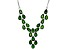 Green Chrome Diopside Sterling Silver Necklace 7.67ctw