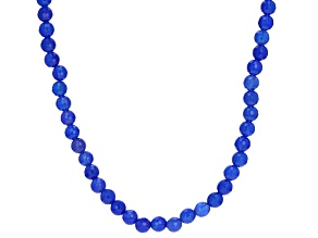 Blue Onyx Sterling Silver Necklace