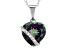 Multi Color Mystic Topaz® Silver Pendant 5.27ctw