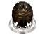 Brown Smoky Quartz Sterling Silver Ring 14.45ctw