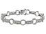 White Diamond Rhodium Over Sterling Silver Bracelet 1.85ctw