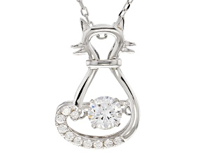 Bella Luce® .95ctw Rhodium Over Sterling Silver