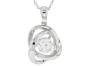 Bella Luce® 1.81ctw White Cubic Zirconia Rhodium Over Sterling