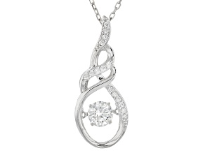Bella Luce® 1.05ctw Rhodium Over Sterling Silver