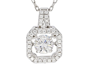 Bella Luce® 1.10ctw Rhodium Over Sterling Silver