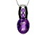 Purple amethyst sterling silver pendant with chain 7.44ctw