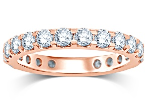2.00ctw White Diamond 14kt Rose Gold Band Ring