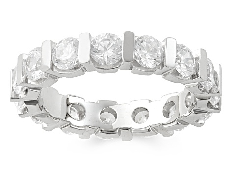 3.00ctw White Diamond 14kt White Gold Eternity Band Ring