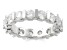 3.00ctw White Diamond 14kt White Gold Band Ring