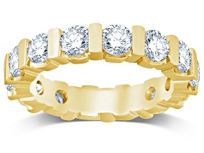 3.00ctw White Diamond 14kt Yellow Gold Band Ring