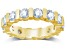 3.00ctw White Diamond 14kt Yellow Gold Eternity Band Ring