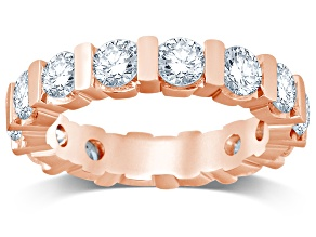 3.00ctw White Diamond 14kt Rose Gold Band Ring
