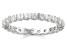 1.00ctw White Diamond 14kt White Gold Eternity Band Ring