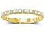 1.00ctw White Diamond 14kt Yellow Gold Eternity Band Ring
