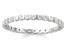 .50ctw White Diamond 14K White Gold Eternity Band Ring