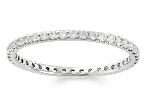 .50ctw White Diamond 14kt White Gold Eternity Band Ring