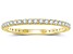 .50ctw White Diamond 14kt Yellow Gold Band Ring