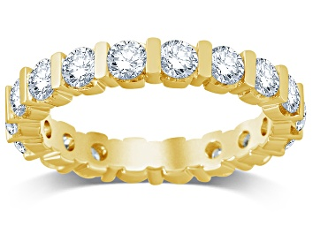 Picture of 2.00ctw White Diamond 14kt Yellow Gold Band Ring