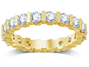 2.00ctw White Diamond 14kt Yellow Gold Band Ring