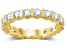 2.00ctw White Diamond 14kt Yellow Gold Eternity Band Ring