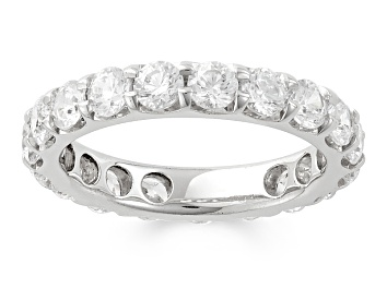 Picture of 3.00ctw White Diamond 14kt White Gold Band Ring