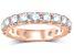 3.00ctw White Diamond 14kt Rose Gold Eternity Band Ring