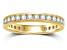 1.00ctw White Diamond 14kt Yellow Gold Band Ring