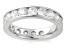 3.00ctw White Diamond 14kt White Gold Band Ring