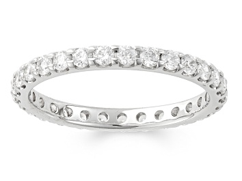 Picture of 1.00ctw White Diamond 14kt White Gold Band Ring
