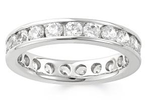 2.00ctw White Diamond 14kt White Gold Band Ring