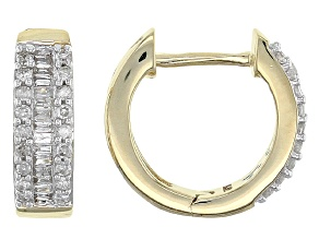 Diamond 14k Yellow Gold Earrings .25ctw