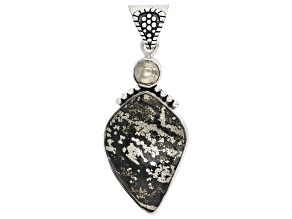 Apache Gold & Pyrite Sterling Silver Pendant