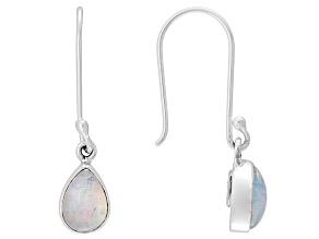 Ethiopian Opal Sterling Silver Earrings 2.50ctw