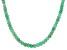 Green Serbian Opal Sterling Silver Necklace