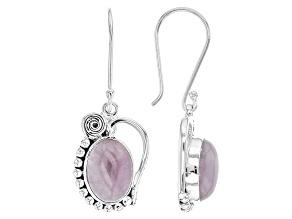 Pink Kunzite Sterling Silver Earrings
