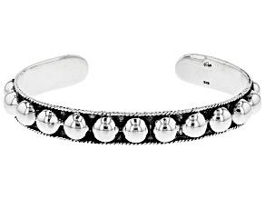 Sterling Silver Tribal Cuff Bracelet